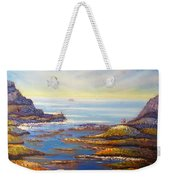 Rock Pools At North Beach Wollongong Weekender Tote Bag