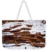 Rock Sandwich With Snow Icing Weekender Tote Bag