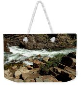 Rock Steps To Glen Alpine Creek Weekender Tote Bag