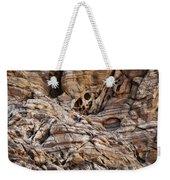 Rock Texture Weekender Tote Bag by Kelley King