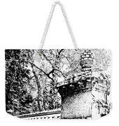 Rockefeller Garden Fence Weekender Tote Bag