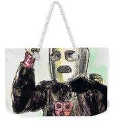 Rocket Man Weekender Tote Bag by Mel Thompson