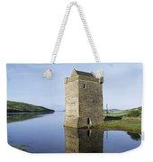 Rockfleet Castle On Clew Bay, County Weekender Tote Bag