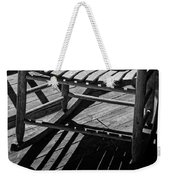 Rocking Chair Lit By The Afternoon Sun Weekender Tote Bag