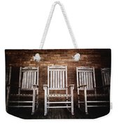 Rocking Chairs Weekender Tote Bag