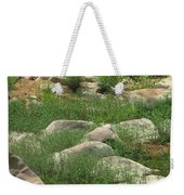 Rocks And Grass At Amidon Conservation Area Missouri Weekender Tote Bag