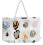 Rocks And Minerals Weekender Tote Bag