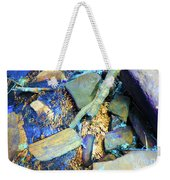 Rocks Of Gold Weekender Tote Bag