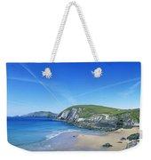 Rocks On The Beach, Coumeenoole Beach Weekender Tote Bag