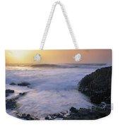 Rocks On The Beach, Giants Causeway Weekender Tote Bag