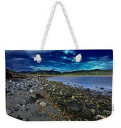 Rocky Beach In Western Canada Weekender Tote Bag
