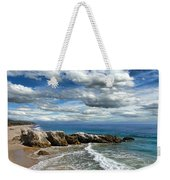 Rocky Coast In Malibu California Weekender Tote Bag