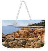 Rocky Coast Of Maine Weekender Tote Bag