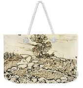 Rocky Ground At Montmajour Weekender Tote Bag
