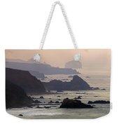 Rocky Headlands On The Big Sur Coast Weekender Tote Bag