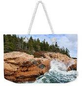 Rocky Maine Coastline. Weekender Tote Bag