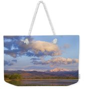 Rocky Mountain Early Morning View Weekender Tote Bag