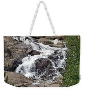 Rocky Mountain Falls Weekender Tote Bag