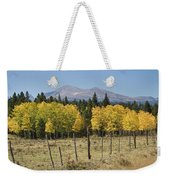 Rocky Mountain High Country Autumn Fall Foliage Scenic View Weekender Tote Bag