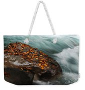 Rocky Mountain Stream Weekender Tote Bag