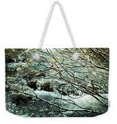 Rocky Mountain Stream Weekender Tote Bag
