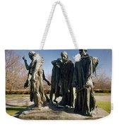 Rodin: Burghers Of Calais Weekender Tote Bag