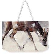 Roe Buck - Winter Weekender Tote Bag by Mark Adlington