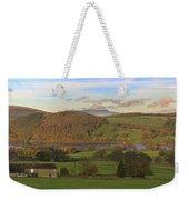 Roe House Overlooks Ullswater Near Pooley Bridge In The Lake District Weekender Tote Bag