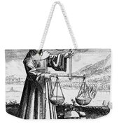 Roger Bacon Conducting An Experiment Weekender Tote Bag