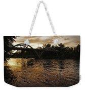 Rogue River Sunset Weekender Tote Bag