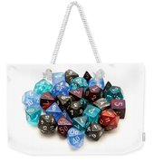 Role-playing Dices Weekender Tote Bag