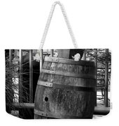 Roll Out The Barrel Weekender Tote Bag by Shelley Blair