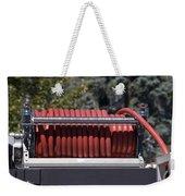 Rolled Fire Hose Weekender Tote Bag