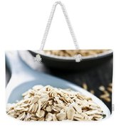 Rolled Oats And Oat Groats Weekender Tote Bag by Elena Elisseeva