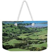 Rolling Fields With Grazing Sheep Weekender Tote Bag