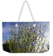 Romaine Lettuce Flowers Weekender Tote Bag by Donna Munro