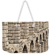 Roman Aqueduct Segovia Weekender Tote Bag