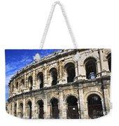 Roman Arena In Nimes France Weekender Tote Bag