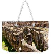 Roman Coliseum Underground Weekender Tote Bag