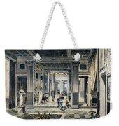Roman House Interior Weekender Tote Bag