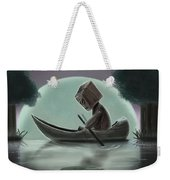 Romantic Boat Ride For One Weekender Tote Bag