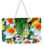 Romantic Emerald Weekender Tote Bag