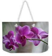Romantic Purple Orchids Weekender Tote Bag