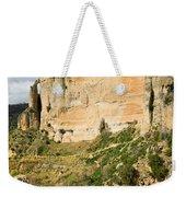 Ronda Rock In Andalusia Weekender Tote Bag