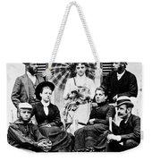 Roosevelt Family 1878 Weekender Tote Bag