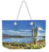 Roosevelt Lake  Weekender Tote Bag