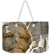 Roosevelt On Mt Rushmore National Monument Weekender Tote Bag