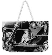Roosevelt, Panama Canal Construction Weekender Tote Bag