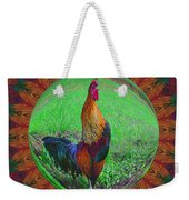Rooster Colors Weekender Tote Bag