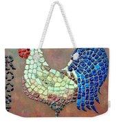 Rooster Lane Weekender Tote Bag by Cynthia Amaral